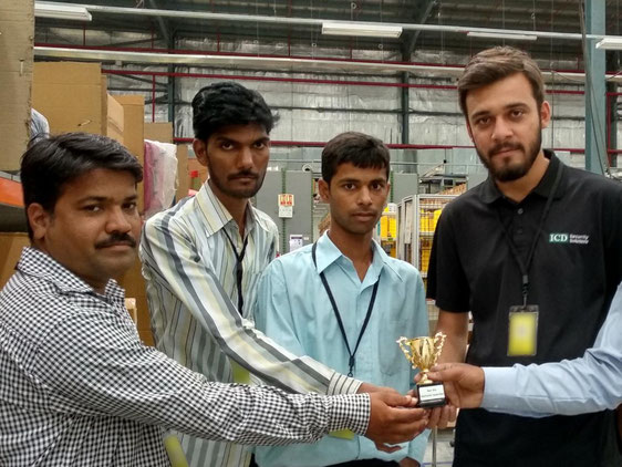 Achyut receives Best Vendor award for the Nagpur project of a global client