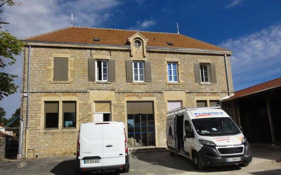 Montret - Projet nouvelle mairie chantier