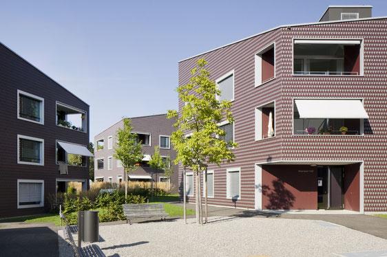 Wohnüberbauung Widenbüel Mönchaltorf, Architektik Architekten Architekturfotografie
