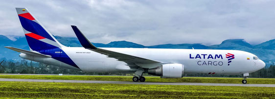 The Boeing 767 freighter is LATAM Cargo's workhorse – company courtesy