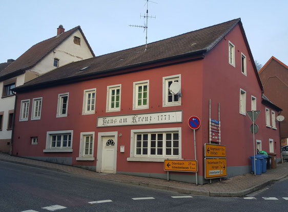 Altstadtrundgang Otterberg,  Haus am Kreuz