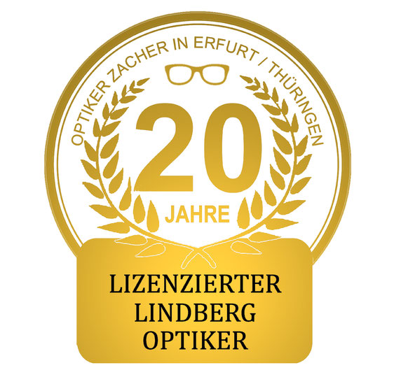 Lizenzierter Lindberg Optiker in Thüringen: Zacher in Erfurt. Spezialist für Lindbergbrillen.