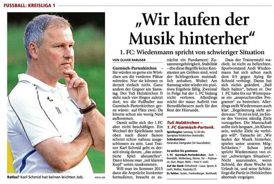 GaPa Tagblatt vom 18.10.2014