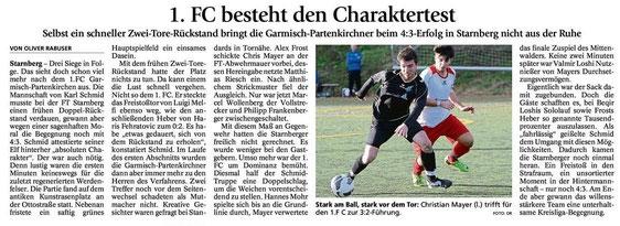 Ga-Pa Tagblatt vom 10.11.2014