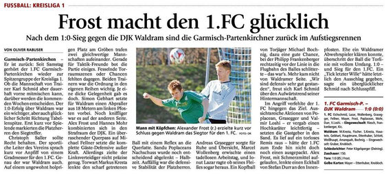 Ga-Pa Tagblatt vom 30.03.2015