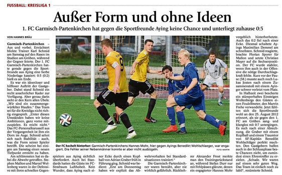 Ga-Pa Tagblatt vom 22.09.2014