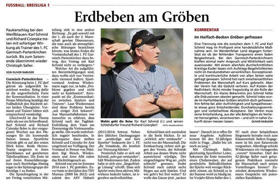 GaPa Tagblatt vom 04.04.2015