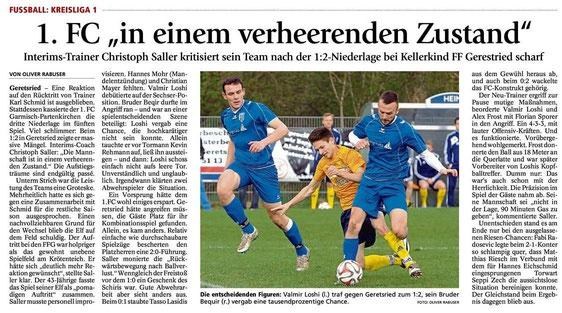 Ga-Pa Tagblatt vom 20.04.2015