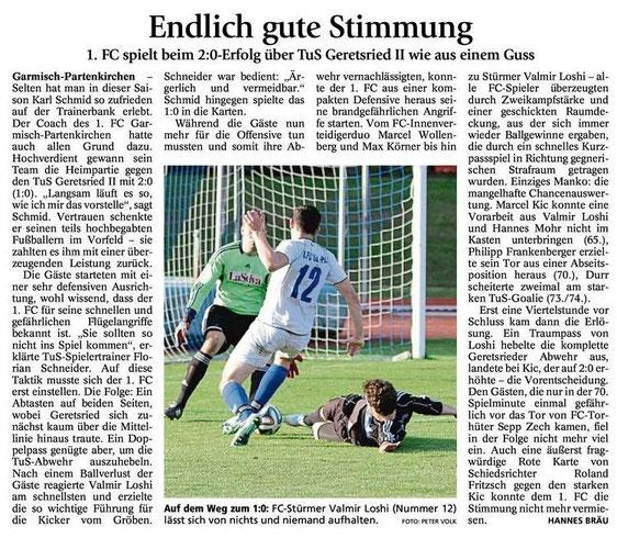 Ga-Pa Tagblatt vom 03.11.2014
