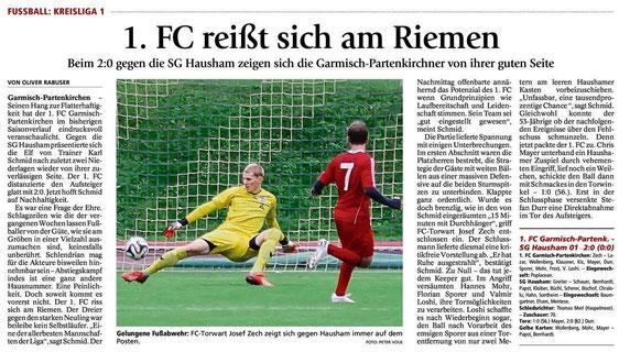 Ga-Pa Tagblatt vom 27.10.2014