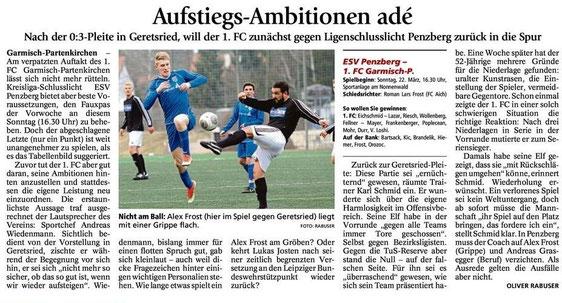 GaPa Tagblatt vom 21.03.2015
