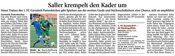 GaPa Tagblatt vom 25.04.2015
