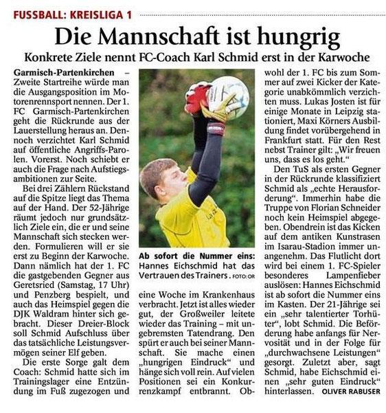 GaPa Tagblatt vom 14.03.2015