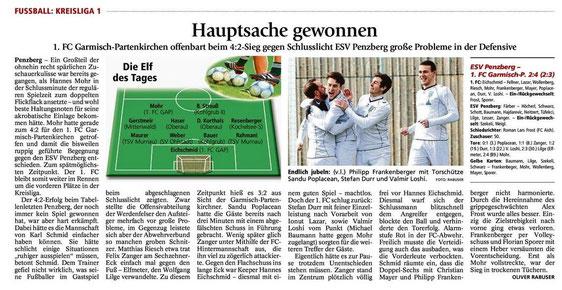 Ga-Pa Tagblatt vom 23.03.2015