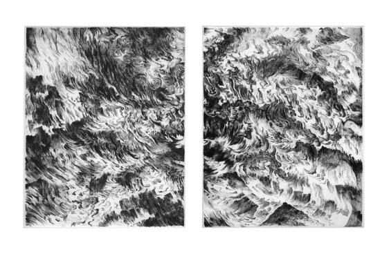 Matthias-Wyss-Kupferstich-Kaltnadel-Copper-Engraving-Drypoint-Cycle-2008–2009-Printing-Plates-20X25-Cm-N°2