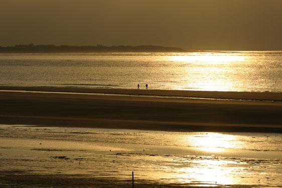 Langeoog, Sonnenuntergang, Nordsee, Meer,