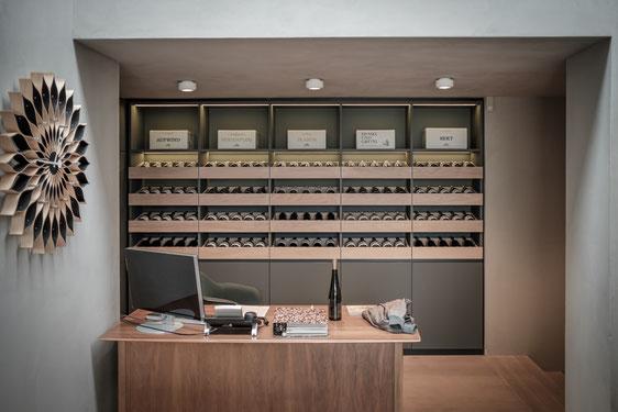 küchen-glück-Weingut Hensel-vinothek