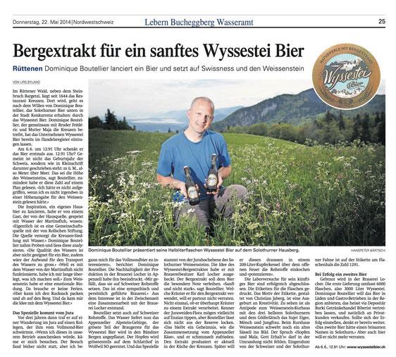 Wyssestei Bier Zeitung