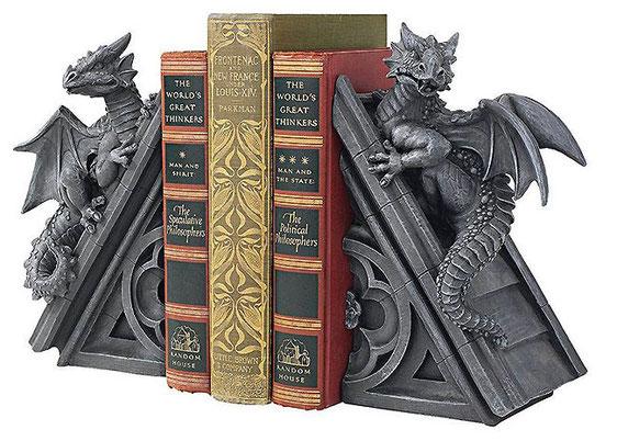 держатель для книг Драконы