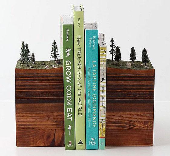 держатель для книг Земля