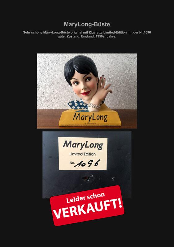Mary Long, MaryLong, Büste, Deko, Dekoration, Verkaufe, Marcel Schiegg, selten, Retro-Design, Retro, Design