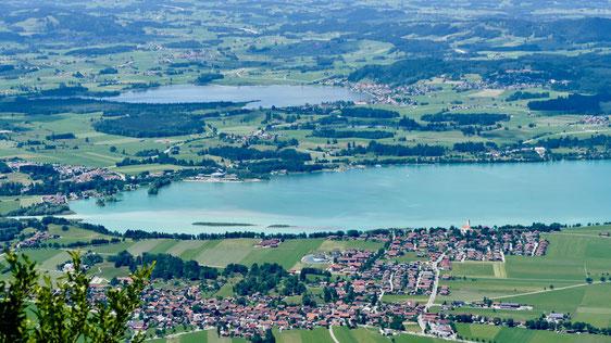Forggensee Füssen im Allgäu