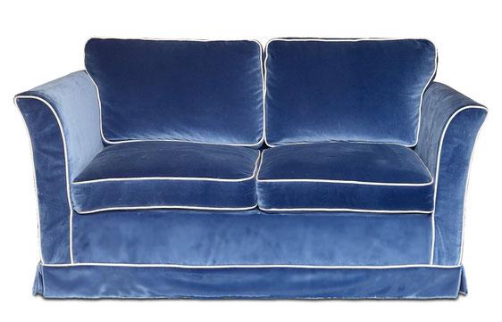 divano su misura velluto atelier caruso
