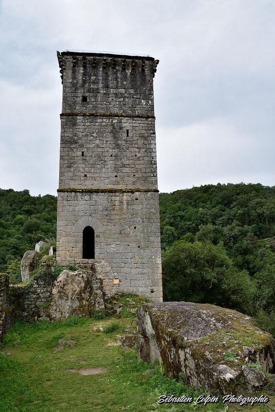 Tour à l'intérieur du Castrum de Merle