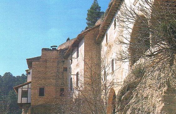 Santuario de la Virgen de Balma  en Bergantes del siglo XIV , Castellón, Comunidad Valenciana, España.