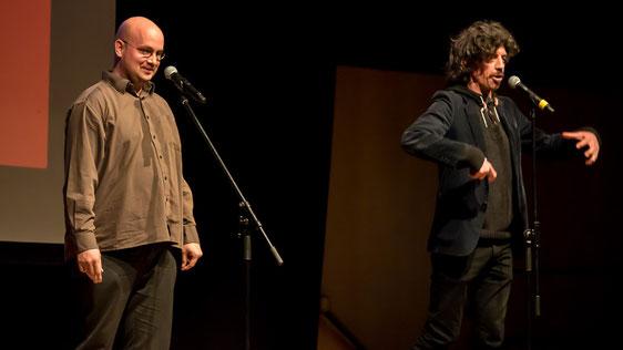 Alex Dreppec und Axel Röthemeyer