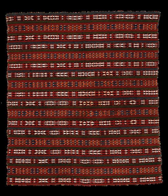 Teppich. Zürich. Vintage Jajim from Uzbekistan. Handgewebter Teppich, Kelim.