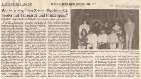 (Quelle: GZ 27. August 1993)