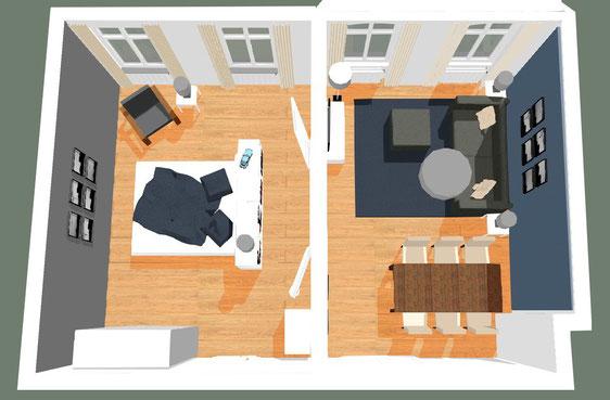 wohnungseinrichtung. Black Bedroom Furniture Sets. Home Design Ideas