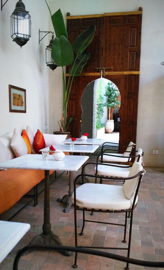 Palais Khum Cafe Kremm Marrakesch Marrakech