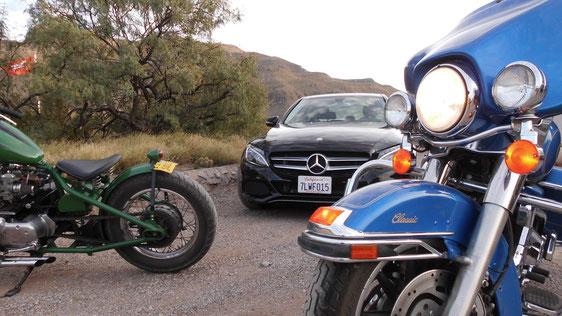 Bild: HDW, Alamogordo, C-Klasse, Harley-Davidson
