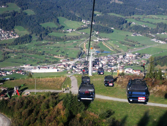 Ellmau in Tirol Wilder Kaiser/Österreich