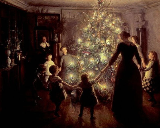 Viggo Johansen Silent Night. 1891 г.