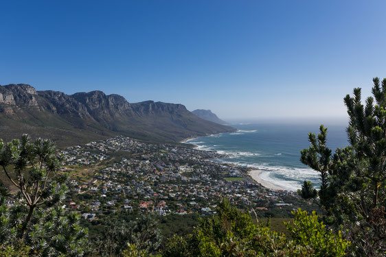 Twelve Apostles View Over Camps Bay in Cape Town