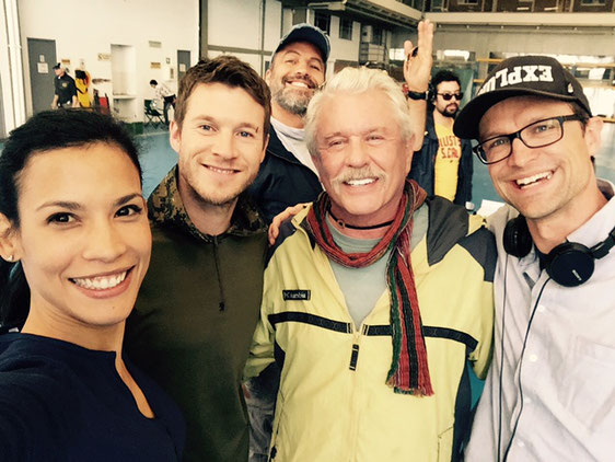 Claudio Fäh mit Chad Michael Collins, Tom Berenger, Billy Zane und Danay Garcia