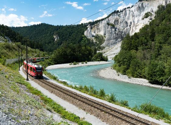 Glacier Express, Luxus Zugreisen in Deinem Reisebüro in Berlin & Brandenburg - Die Reiserei