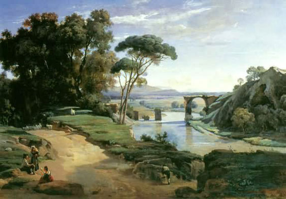 《ナル二の風景》1827年