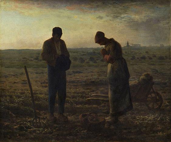 《晩鐘》1859年