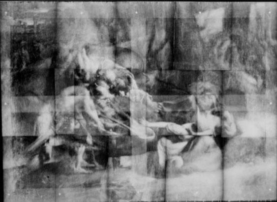 《羊飼いの少年》の下にある《バビロンのユダヤ人捕囚》