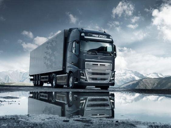 Schönwetter - Volvo Truck FH 750