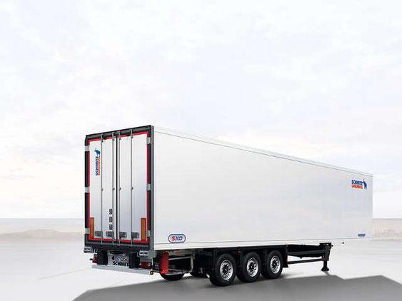 Schönwetter - Schmitz Cargobull Anhänger ohne Führerhaus