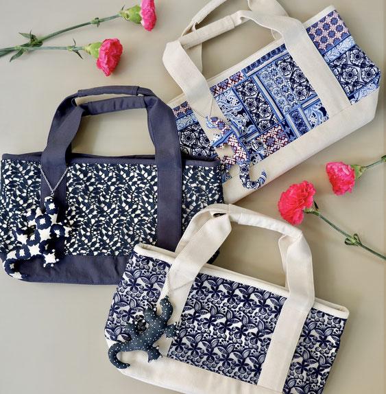 Fabric Tote Sサイズ 各¥4,950(税込)