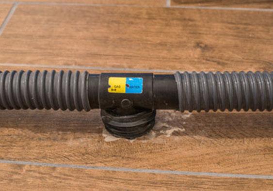 Luftschlauch für Estrich-Dämmschicht-Trocknung Bautrocknung
