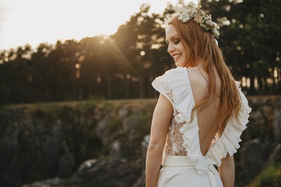 boho bride belgium bruid ardennen bloemenkroon fotograaf