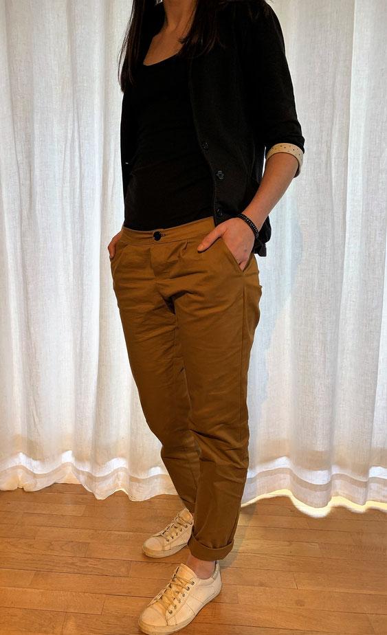Fusain Blousette Roseamp; L'embobineuse Mercerie De Pantalon Pretty dCBerxoW