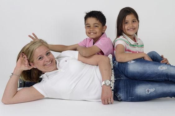 Familienfoto für die ganze Familie